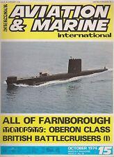 Aviation & Marine International (October 1974) (Farnrborough '74, Oberon Class)