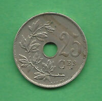 Monnaie Belgique - Albert 1er - 25 centimes 1922 (légende Française) - KM 68.1