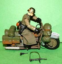 Indiana jones la ultima cruzada Soldado Alemán & Motocicleta Suelto Completo