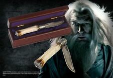 HARRY POTTER OFFICIAL DUMBLEDORE DIECAST WIZARD KNIFE + COLLECTORS BOX GIFT NEW