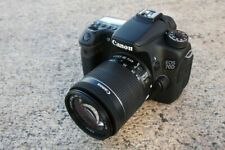 MINT Canon EOS 70D DSLR Camera with EF-S 18-55mm IS Lens (3 LENSES)