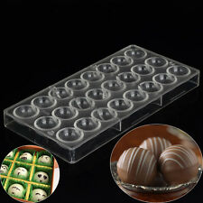 Semi Sphere Chocolate Mould Polycarbonate 3D Mold Plastic Oven Baking Bakeware