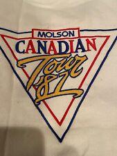 MADONNA OFFICIAL July 4, 1987 Toronto Molson Canadian Tour Sweatshirt RARE!