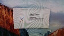 2008 Mac Pro Dual Quad Core Xeon 2.8 Ghz 32 Gb Ram 1Tb HD El Capitan