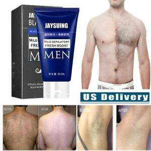 60ml Hair Removal Cream Pubic Beard Depilatory Paste For men Fast