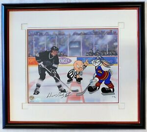 Wayne Gretzky Signed The Great Ones Animation Cel AP/75 Upper Deck Authenticated