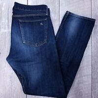 Rag & Bone Standard Issue Fit 3 Jeans Mens 34x34 Dark Wash Slim Straight J76