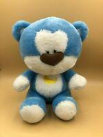 Authentic Morning Glory Blue Bear Plush Soft Stuffed Toy Teddy Animal Doll Moon