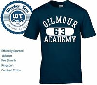Gilmour Academy T Shirt as worn by David Gilmour of Pink Floyd Best Quality