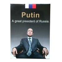 Putin Playing Cards Russia Vladimir Putin Russian President Poker deck