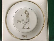Rare ! 2002 Lpga Shoprite Classic Pro Am Golf Tournament Plate Lenox China