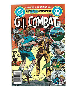 G.I. Combat #252 (4/83) FN+ (6.5) Kubert! Great Bronze Age!