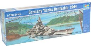 Trumpeter 5712 TirpitZ Battleship Model Kit 1:700 NIB