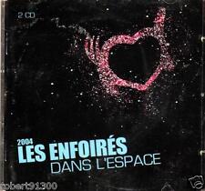 CD audio../....LES ENFOIRES DANS L'ESPACE.......2004..../...2 CD...