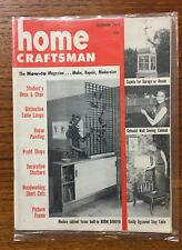 Vintage HOME CRAFTSMAN 1950s ROOM DIVIDER TRELLIS, DESK & CHAIR, LAMP Plans, DIY