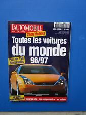 """L'Automobile """" TOUTES LES VOITURES DU MONDE """"  1996-1997 Hors-Série  N° 19"""