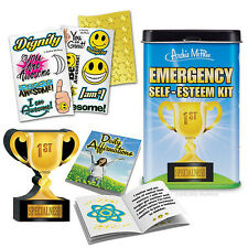 Emergency Self Esteem Kit Novelty Affirmation Gag Joke Gift