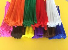 Chenille Stems 6mm x 15cm 500pk (Craft Pipecleaners) BULK
