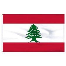 3x5 Lebanon Lebanese Flag 3'x5' House Banner Grommets Super Polyester