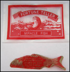 ( 1008 ) Fortune Telling Teller Fish - Miracle Palm Reading - WHOLESALE