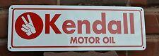 Kendall Motor Oil Metal Sign Garage Shop logo Mechanic Conoco 66 Free Shipping