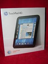 HP TouchPad 4G 32GB 1.5 ghz ATT WiFi with unlocked code Brand New!! Sealed Box!!