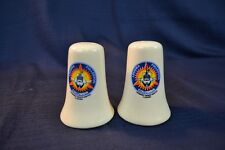 VIntage SPACE SHUTTLE COLUMBIA Salt And Pepper Shakers