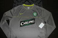 Nike Dri Fit Celtic Glasgow langarm Trikot Größe L Grau Neu mit Etikett