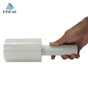 "Ultra Strength Mini Stretch Wrap Plastic Film 80 Gauge, 5"" width x 1000 ft long"