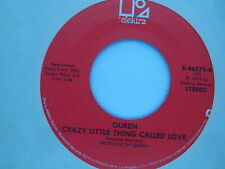 45 RPM vinyl record CLEANED & PLAYS NM- QUEEN Crazy Little Thing Called Love