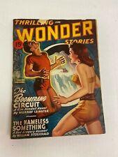 Thrilling Wonder Stories June 1947 Pulp Magazine