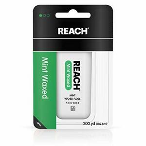 Reach Waxed Dental Floss for Plaque and Food Removal 200 Yards, 1 Count