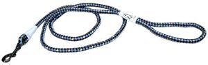 K9 Explorer Reflective Braided Rope Leash - 6' Lead - Color Sapphire 7648436219