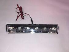 Truck Cap - Topper  3rd  Third brake light LED recessed Factory Leer Fiberglass