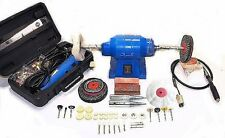 Jewellery / Craft Bench Polisher Grinder With Rotary Tool And Flexible Shaft