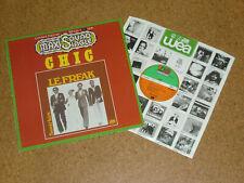 """LP Maxi 12"""" Chic Le Freak Savoir faire Limited Edition Orange Wax Atlantic"""