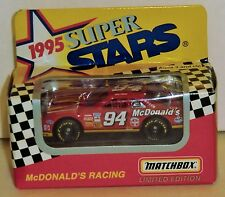 Bill Elliott #94 McDonald's 1995 1/64 Matchbox Superstars Series II 1 of 22,000
