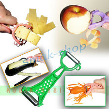 ALL-PURPOSE KNIFE CLEANER CUTTER PEELER FOR FRUITS AND VEGETABLES WITH 2 BLADES