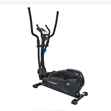Exercise Bike Roger Black Gold Magnetic Trainer Ipad Console And Water Holder