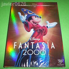 FANTASIA 2000 CLASICO DISNEY NUMERO 38 DVD NUEVO Y PRECINTADO SLIPCOVER