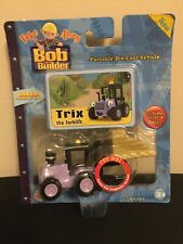 Very Rare Bob The Builder Take Along Die-Cast Vehicle Trix Forklift 2005 Nib