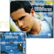 "PAOLO MENEGUZZI ""VEROFALSO"" RARO CDsingolo 2003"