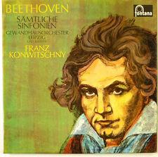 "6x12"" LP-veste casa Orchestra Lipsia - - k3600-Slavati & cleaned"