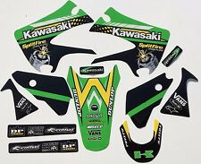 Team Pro Circuit Splitfire Kawasaki KX125 KX250 2003-2008 Graphic KIT GRAPHIC