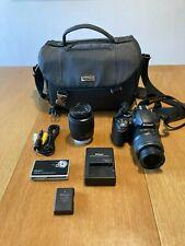 Nikon D3200 24.2 MP Digital SLR Camera with 18-55mm and 55-200mm Lens Kit