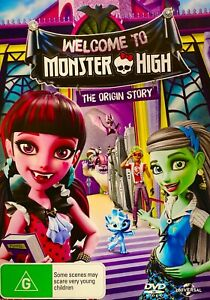 158 New Sealed Welcome to Monster High: The Origin Story [Region 4] - DVD
