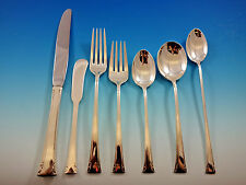 Serenity by International Sterling Silver Flatware Set 8 Service 60 pieces