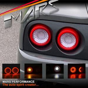 Clear Red Full LED 3D Bar Tail Lights for FERRARI F-360 512 F355 550 575M F50