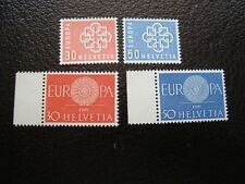SUISSE - timbre yvert/tellier n° 630 631 666 667 n** MNH (COL1)
