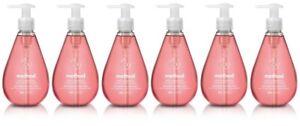 (Pack of 6) Method Gel Hand Soap, Pink Grapefruit, 12 Ounce